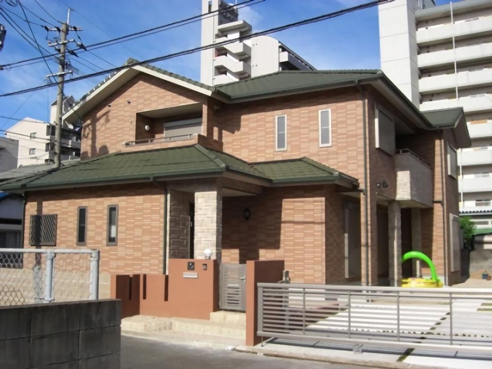 二世帯住宅の家