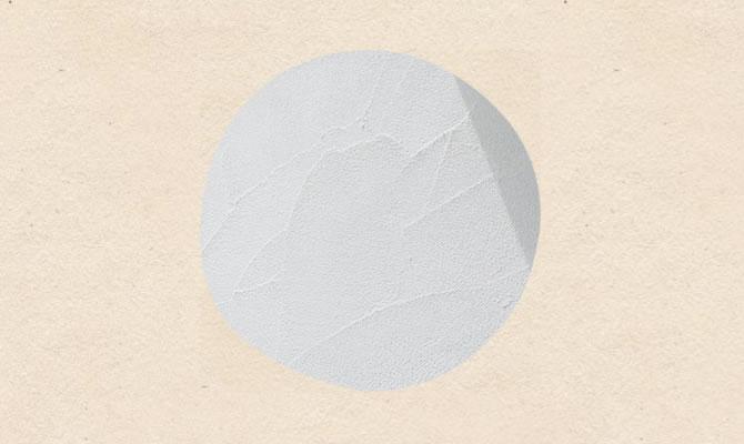 100%天然素材の本漆喰