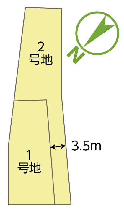 エコハウス大里原町 区画図